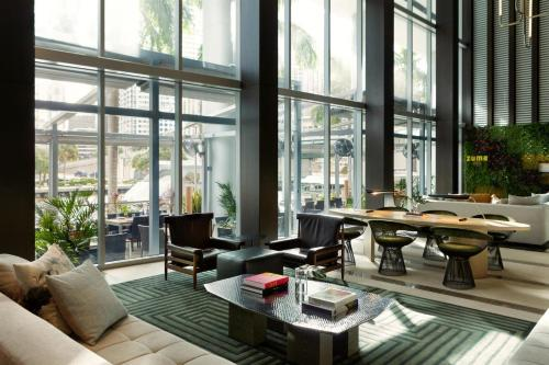A restaurant or other place to eat at Kimpton EPIC Hotel, an IHG Hotel