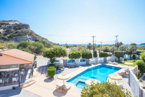 A view of the pool at Maroula Studios or nearby