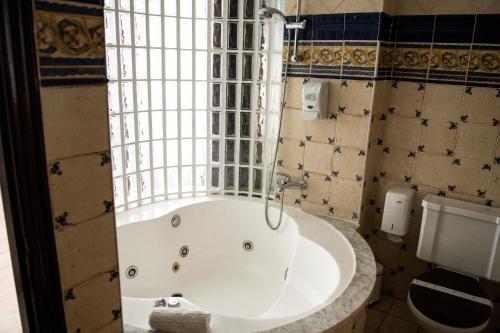 A bathroom at Posada la Leyenda