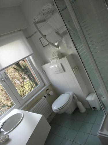 Salle de bains dans l'établissement Hotel Bilderdijk