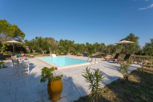 Πισίνα στο ή κοντά στο Liuba Houses
