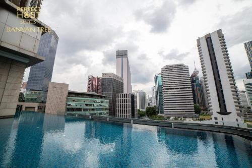 The swimming pool at or close to PH Suites at Pavilion Bukit Bintang