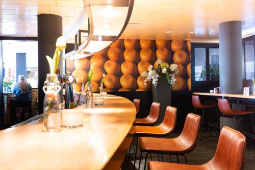 The lounge or bar area at Best Western Plus Amsterdam Airport Hotel