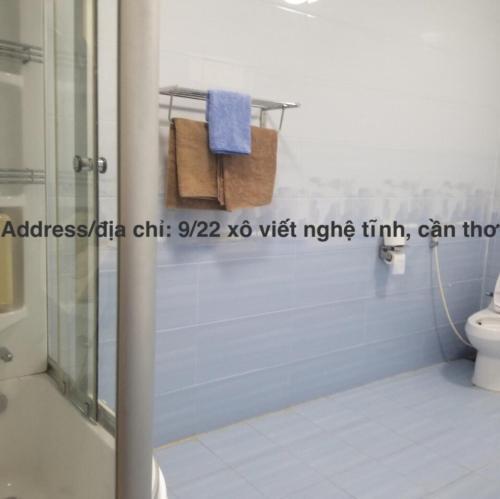 A bathroom at Ete homestay