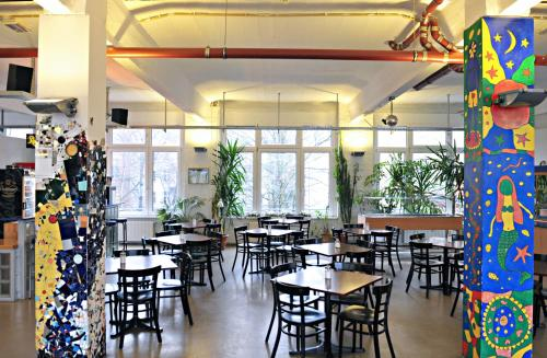 A restaurant or other place to eat at Hotel Transit Loft