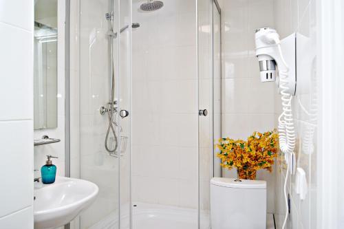 Ванная комната в Отель Петровка 17