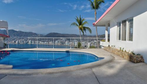 The swimming pool at or near Las Brisas Acapulco