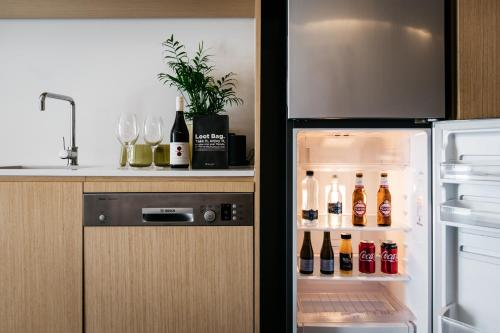 Drinks at Nishi Apartments Eco Living by Ovolo