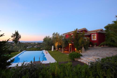 Piscina di Alea Resort Villas o nelle vicinanze