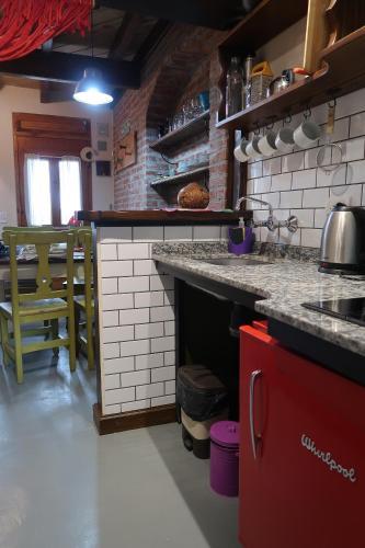 Una cocina o kitchenette en Casa Andina Chaltén