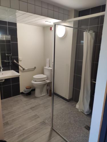 A bathroom at Centre Bol Vert