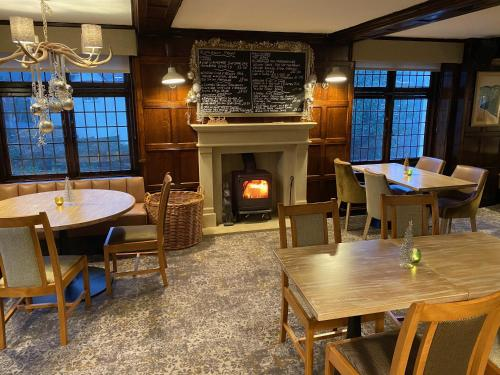 A restaurant or other place to eat at The Malvern Hills Hotel