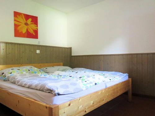 Ein Bett oder Betten in einem Zimmer der Unterkunft Holiday home Am Ferienbauernhof II