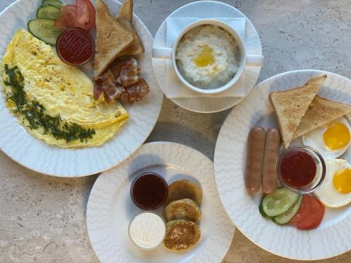 Завтрак для гостей Гостиный Двор Евгения