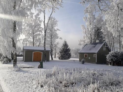 Sofia Chalet during the winter