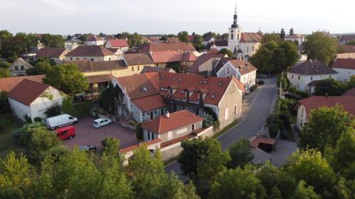A bird's-eye view of Pension u Sv. Prokopa