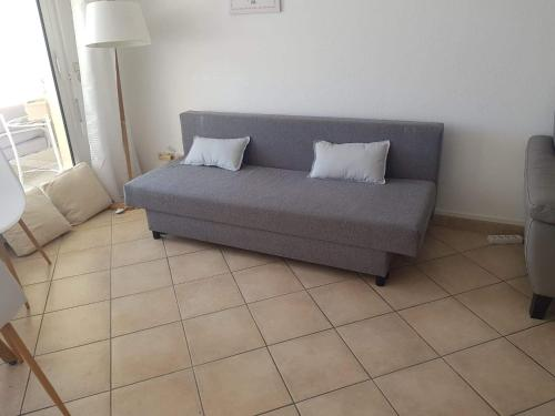 A seating area at Appartement Standing Marseille 4 pers Clim Parking