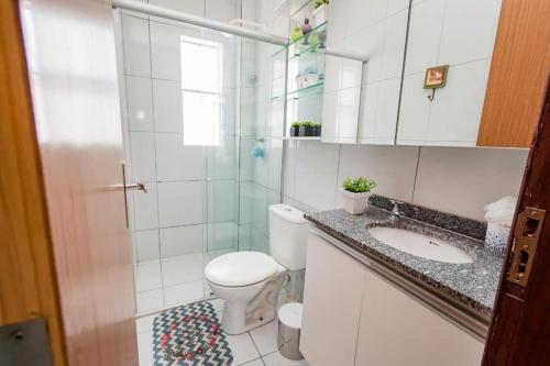 A bathroom at Casa Sao Gonçalo do Amarante