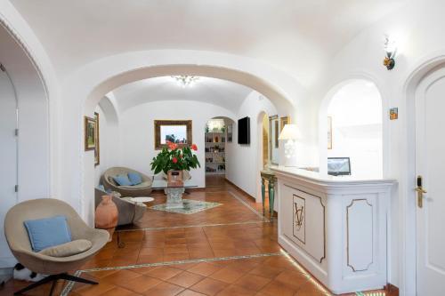 Hall o reception di Hotel Villa Gabrisa