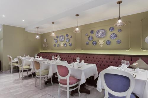 Restaurant ou autre lieu de restauration dans l'établissement Domus Zamittello
