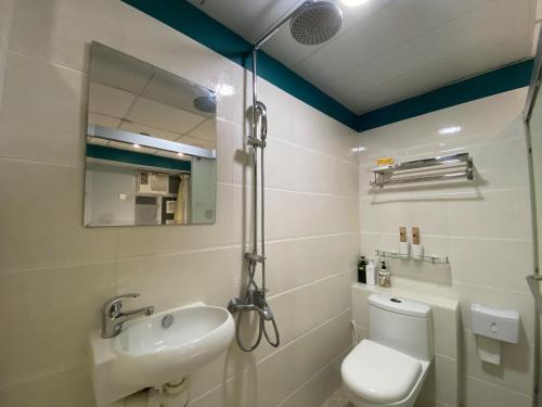 Salle de bains dans l'établissement AMU Dreamhouse
