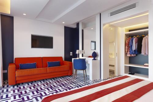 Area soggiorno di Grand Hotel Riviera