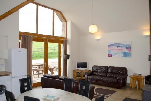A seating area at The Byre cottage