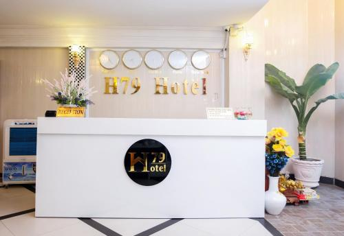 The lobby or reception area at H79 HOTEL