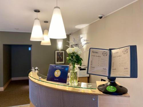 Лобби или стойка регистрации в Отель Ева