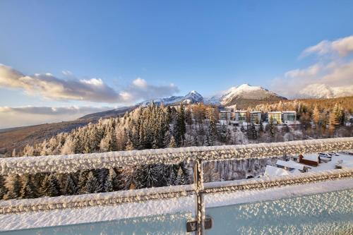 Hotel Panorama Resort during the winter