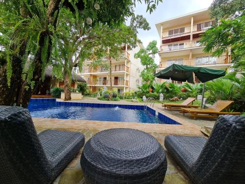 The swimming pool at or near Boracay Amor Apartment
