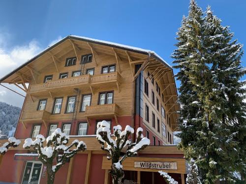 Sporthotel Wildstrubel зимой