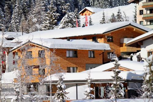 Mats Lech Alpenquartier during the winter