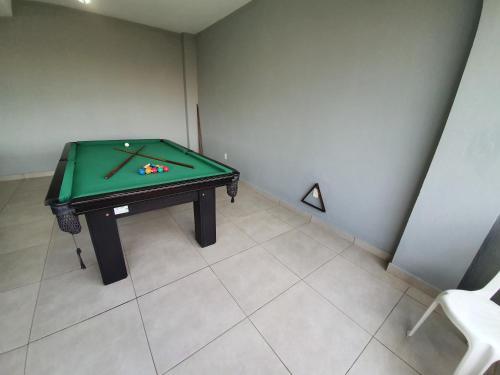 A billiards table at Hotel Costa Dalpiaz