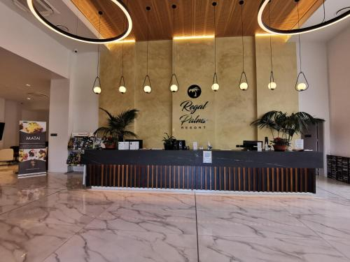 The lobby or reception area at Regal Palms Resort