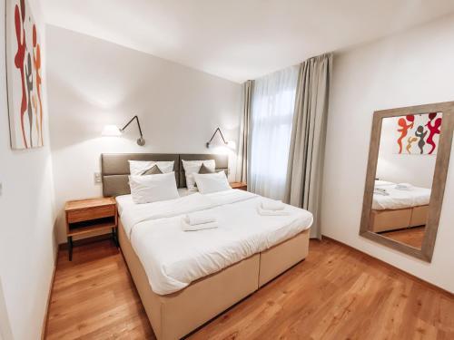 Letto o letti in una camera di Residence Masna