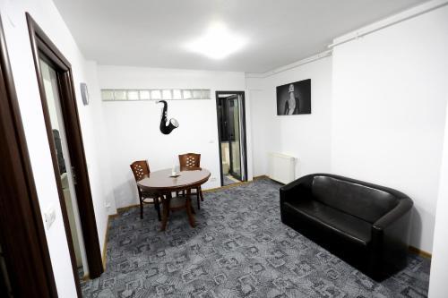 Гостиная зона в Apartament Luxury