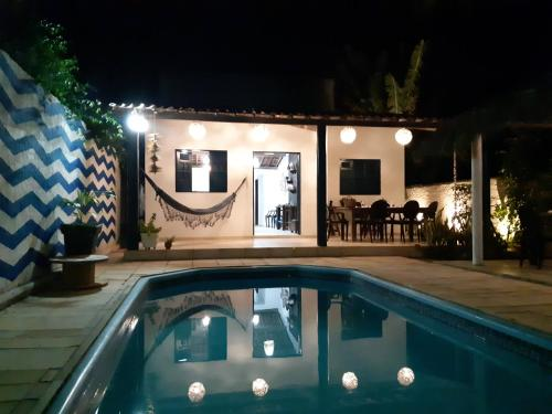 The swimming pool at or close to D'Kaza Pousada de Charme
