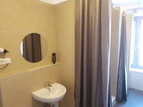 A bathroom at Hostel City Süd