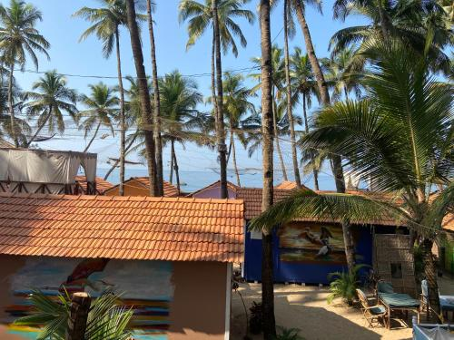 A view of the pool at Art Resort Goa or nearby