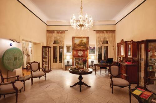 The lobby or reception area at Villa Levante