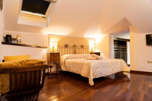 A bed or beds in a room at Real Borbone