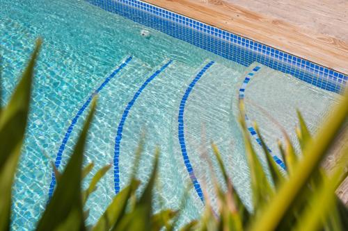 Het zwembad bij of vlak bij B&B Villa Vermaire