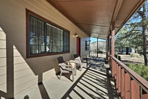 A balcony or terrace at Spacious Family Home Surrounded by Mtn Views!