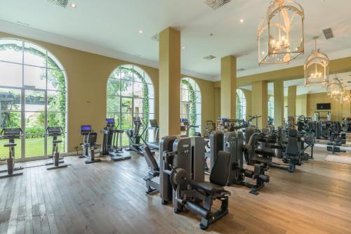 Palestra o centro fitness di Finca Cortesin Hotel Golf & Spa