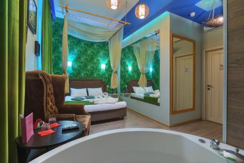 """Ванная комната в Отель """"на Кутузовской"""""""