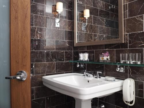 A bathroom at SIXTY SoHo