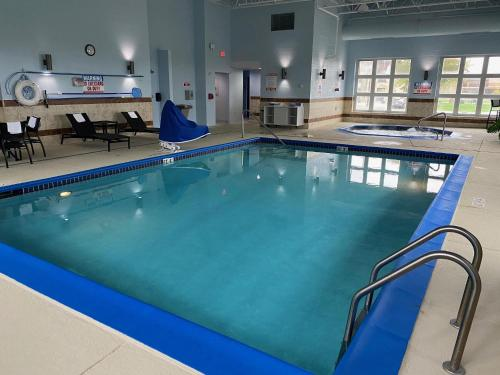 The swimming pool at or near Holiday Inn Express Wixom, an IHG Hotel