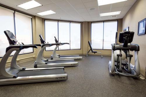 The fitness center and/or fitness facilities at Drury Inn & Suites Amarillo