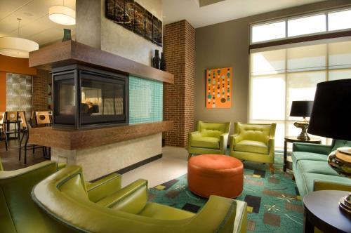 A seating area at Drury Plaza Hotel San Antonio North Stone Oak